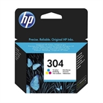 HP Color Inkjet Cartridge No.304 (N9K05AE)