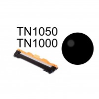 Brother TN1050 kompatibel Sort toner  1000 sider v/5% Dækning   (TN-1050/TN-1000)