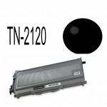 Brother kompatibel TN2120  Sort toner 2600 sider v/5% Dækning TN-2120